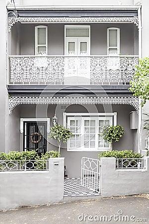 Terrace House Paddington Sydney Stock Photo Image 29471270
