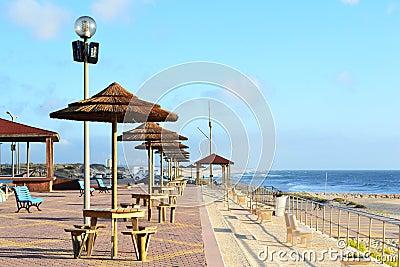 Terrace on Praia da Gala Beach