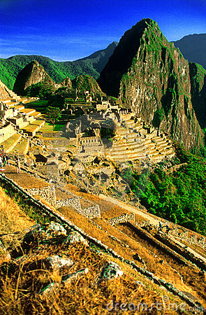 The Terraced City of Machu Picchu