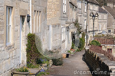 Terraced Houses and Pathway