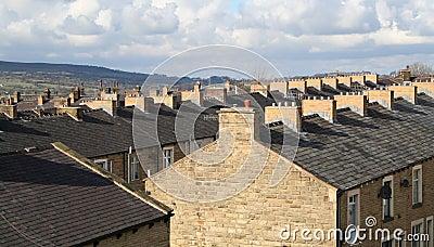 Terraced Housing, Lancashire.