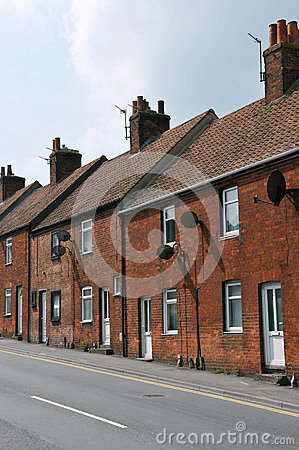 Terraced Red Brick Houses