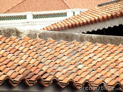 Terracota roofs