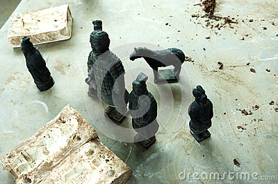 Terracotta Army figurines - China