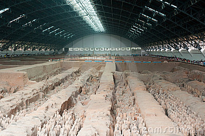 Terracotta army hangar