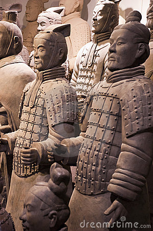 Terracotta Army Soldiers, Xian China, Travel