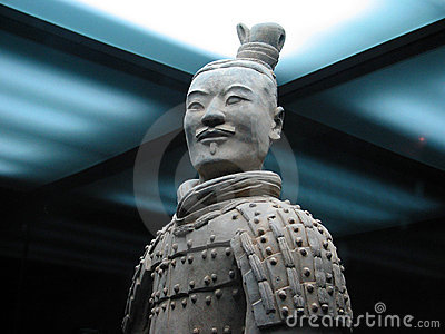 The Terracotta Army Warrior