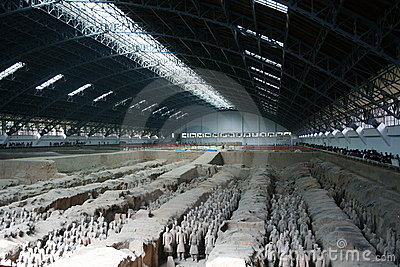 Terracotta Army Xian / Xi an, China Editorial Photography