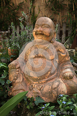 Terracotta Buddha Statue