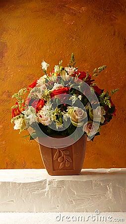 Terracotta Flowers