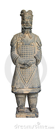 Free Terracotta Soldier Royalty Free Stock Photography - 5436027