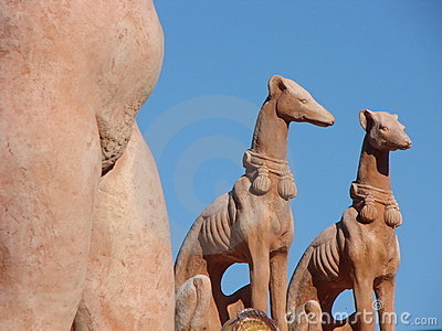 Terracotta statuettes