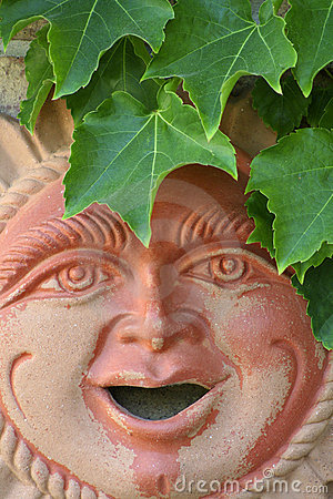 Terracotta sunshine man