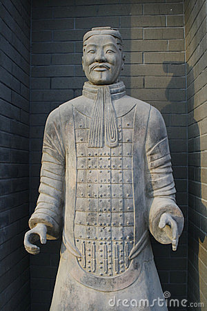 Terracotta warrior in Xi an