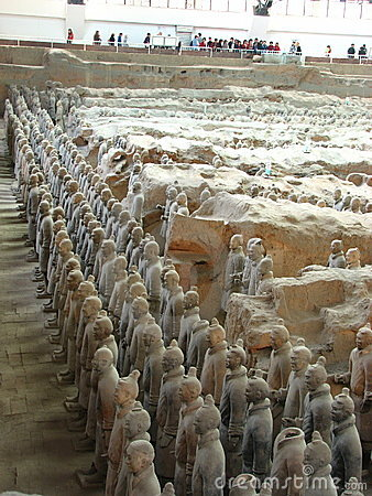 Terracotta Warriors Editorial Stock Image