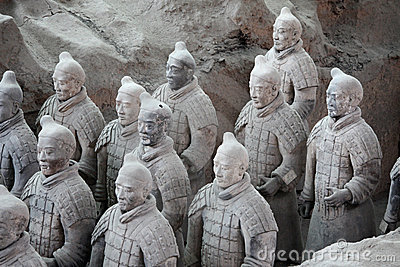 Terracotta warriors, China