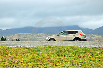 Terrain car offroad