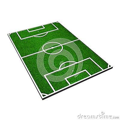 Terrain de football photographie stock image 8506432 for Photographie de stock
