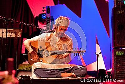 Terrakota, Masala Festival, Hanover, 17 May 2009 Editorial Photography