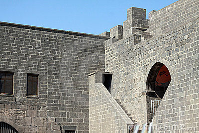 Terraplén de Diyarbakir.