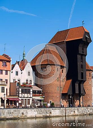 Terraplenagem do rio de Motlawa, Gdansk