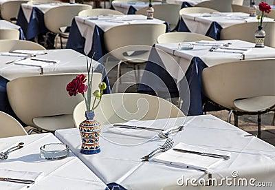 Terrazzo del ristorante