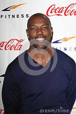 Terrell Owens Grand Opening Celebrity VIP Reception of the FIRST SIGNATURE LA FITNESS CLUB Editorial Stock Photo
