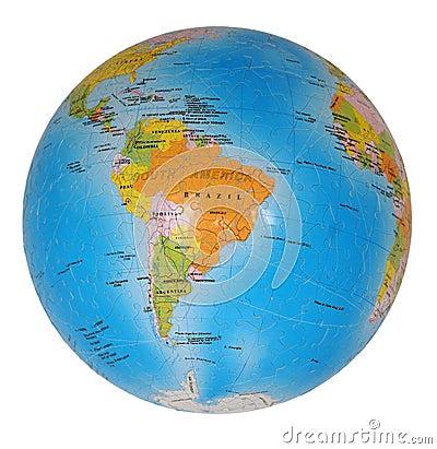 Free Terrestrial Globe Royalty Free Stock Photo - 10648685