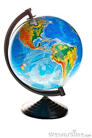 Free Terrestrial Globe Stock Image - 48644311