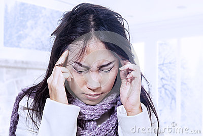 Terrible headache in winter