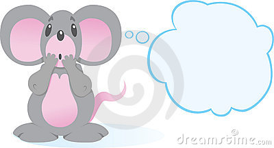 Terrified Mouse