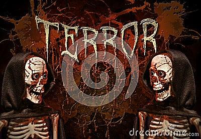 Terror skeletons