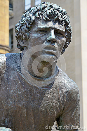 JUNI: Statue von Terrance Stanley <b>Terry Fox</b> (28. Juli 1958 - 28. - terry-fuchs-42965759
