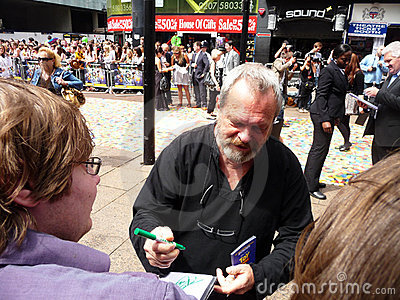 Terry Gilliam at Toy Story 3 Premiere Editorial Image
