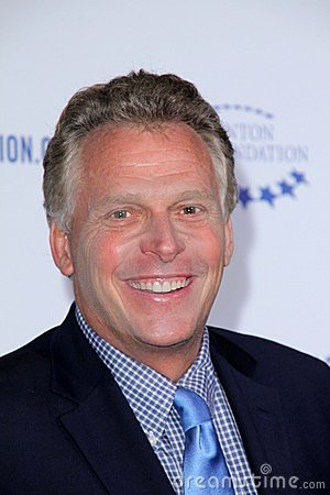 Terry McAuliffe at the Clinton Foundation Gala in Honor of  Editorial Stock Photo