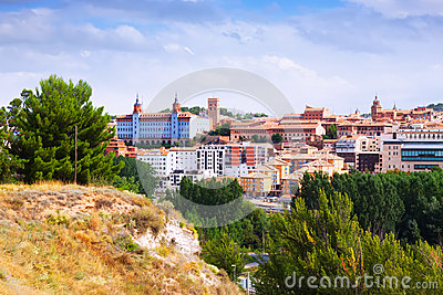Teruel in summer. Aragon