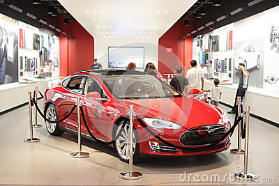Tesla Motors Editorial Image Image 31487550