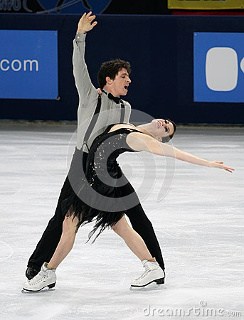 Tessa VIRTUE / Scott MOIR (CAN) Editorial Stock Image