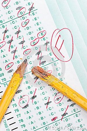 Failed exam fm study