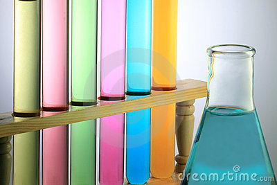Test Tube With Flask