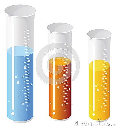 Free Test Tubes Royalty Free Stock Photo - 10325365