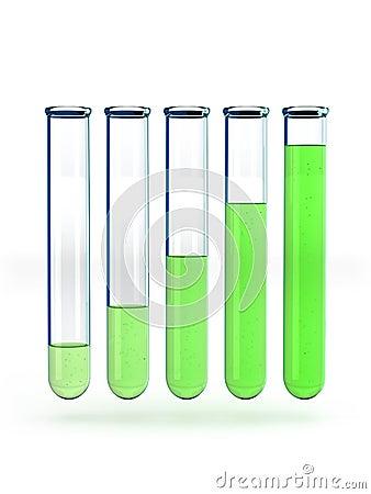 Test tubes graph