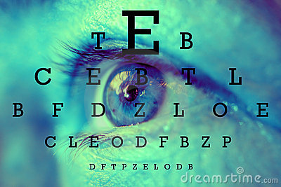 Test vision chart