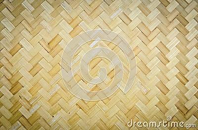 Teste padrão de bambu do weave