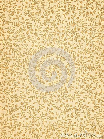 Teste padrão floral de Grunge