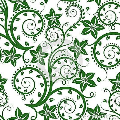 Teste padrão floral