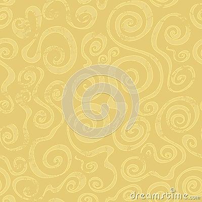 Teste padrão sem emenda da espiral abstrata da areia