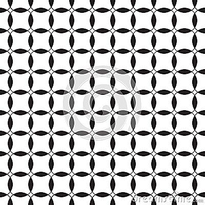 Teste padrão sem emenda preto e branco