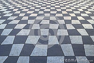 Teste padrão Checkered