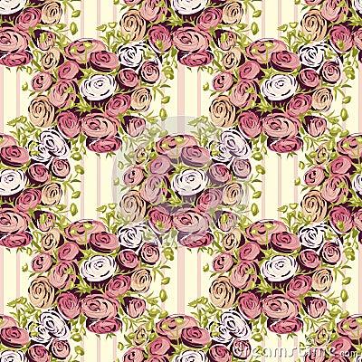 Teste padrão de flor